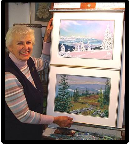 Tonny Moser, Artist, Painter of the Okanagan