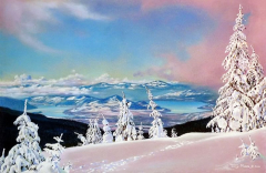 """Winter View From Silver Star"""