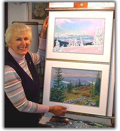 Tonny Moser, Artist, Painter of the Okanagan